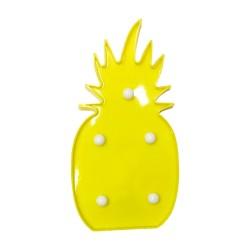adorno luces led piña 18469