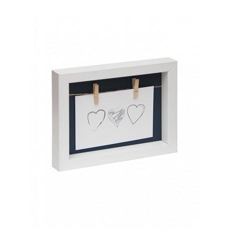 portarretrato con broches para colgar fotos vs. colores WDC2025 20 x 25 cm