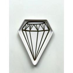 recipiente vidrio tramado (ideal portavela / mate) 349C