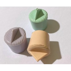 tapón de silicona para frasco (perforado para bombilla)