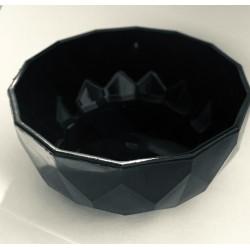 bowl plástico negro chico 11 cm. diámetro KE68