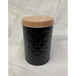 lata negra relieve 9X13CM A037108Z