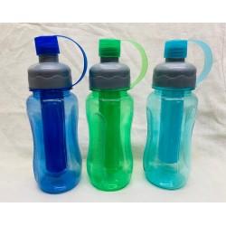 botella plástica con infusor vs. colores BA25195 500 ml
