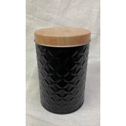 lata negra relieve 8X18CM  A037106Z