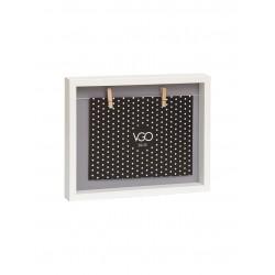 marco con 2 broches (15x21 cm) WDC10168