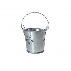 balde zinc flor 5,5x5,5 cm 20273