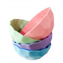 bowl plástico pastel mediano 15 cm diámetro KE69