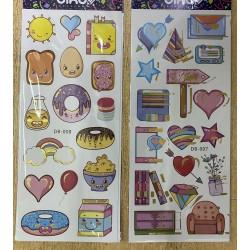 sticker surtido r130245  cartel/carita