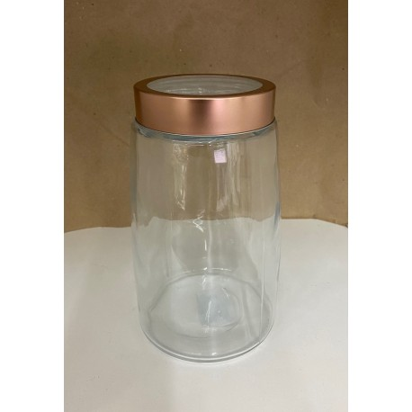 frasco de vidrio tapa ventana alto 20cm base 12 cm ZT80524145