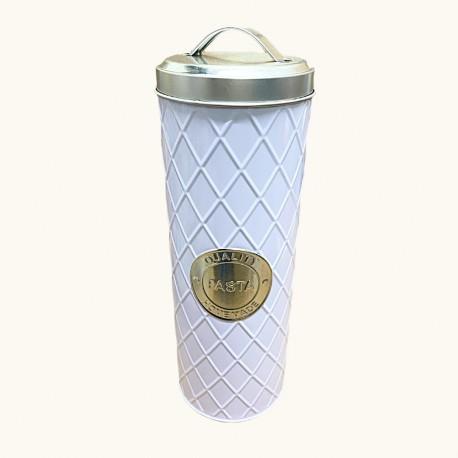 lata blanca con manija pasta 11x33 cm 066100BXX