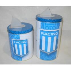 set yerbera y azucarera RACING CLUB