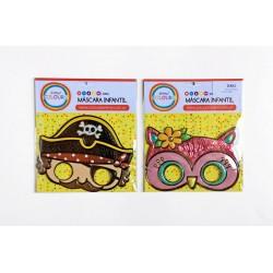 Carnaval! máscara plástica infantil 15882