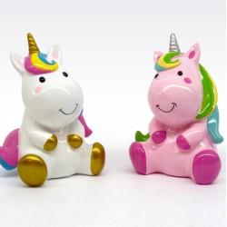 adorno cerámico unicornio 15381