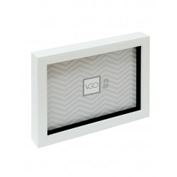 portarretrato box plástico blanco 20x25 cm 9080